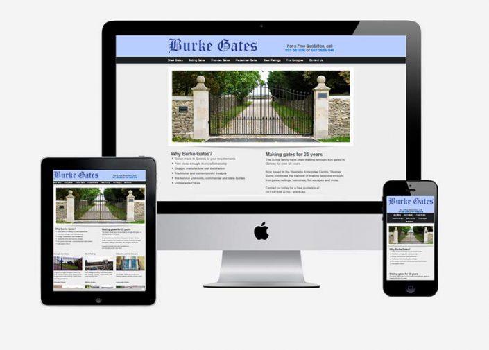 Website Design by Galway Internet - Burkegates.com