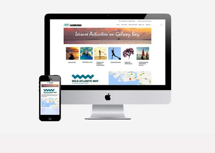 Website Design by Galway Internet - Lasmuigh.ie