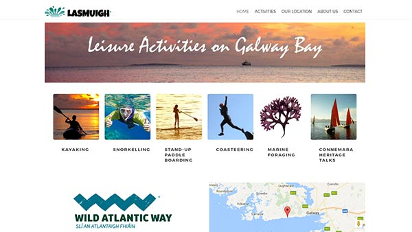 Web Design by Galway Internet - Lasmuigh.ie