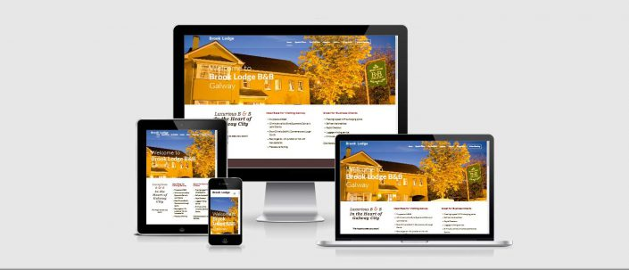 Web Design by Galway Internet - Brook Lodge B and B